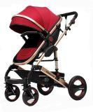 Estrutura em liga de ferro Deluxe para carrinho de bebé