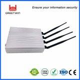4 emittente di disturbo piena di Smartphone della fascia di GSM 3G delle antenne con intervallo di blocco facoltativo