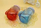 Tazza di vetro del muratore della bevanda ghiacciata libera dell'OEM per bere