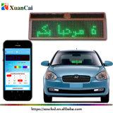 Contrassegno in tutto il mondo del segno LED della visualizzazione LED dell'automobile di linguaggio LED di Bluetooth LED della barra dei messaggi LED di permesso di messaggio della scheda LED del mini regalo corrente programmabile di natale