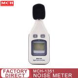 Mini-ordinateur de poche mètre numérique du bruit 30-13031,5 dba Hz 8KHz 2s à 4 chiffres mch-1351 Sonomètre