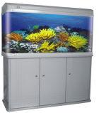 Стеклянный Аквариум/рыбы топливного бака