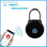 Gl05 application Bluetooth de contrôle d'empreintes digitales verrou à combinaison cadenas