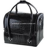 ワニの構成の取り外し可能な皿の宝石類のリングが付いている装飾的なトレイン袋のハンドバッグの箱