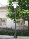 Réverbère solaire de cour extérieure de DEL la cour d'horizontal de jardin