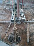 落下穿孔器の鋼鉄低下ハンマーの杭打ち機を放しなさい