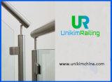 Main courante de verre en acier inoxydable Balustrade rambarde