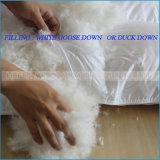 100% algodón / travesaño de la cubierta de ganso blanco / pato edredón / duvet / consolador Conjuntos para Hotel / Inicio
