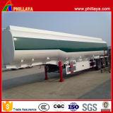 Cisterna 42000liters diesel de petróleo de acero del camión semi remolque del tanque de combustible del metal
