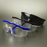 Lunettes enveloppantes de protection d'oeil de lentille d'homologation de la norme ANSI Z87.1 (SG100)