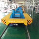 Carro automático del rial de la placa giratoria del transporte de acero resistente