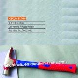 Американский прямой тип молоток с раздвоенным хвостом с ручкой покрынной резиной
