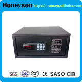 18mm Solid Steel Bolt Black Safe Deposit Box per Hotel