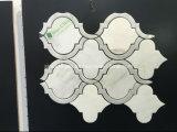 Azulejo de mosaico de mármol Waterjet al por mayor
