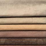 velluto di lavoro a maglia 100%Polyester con cuoio che osserva e facile pulire (JL001)