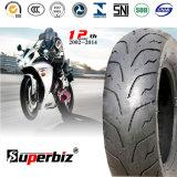 10 pouces nouveaux OEM 6pr de la courroie de nylon en caoutchouc naturel des pneus diagonaux motif vertical scooter moto pneu (120/90-10) (130/70-16)