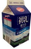 460ml 6 couche Carton Gable Top pour le yaourt