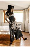 Платье способа без бретелек черное Backless