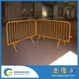 Barricade van de Deklaag van het Type van Controle van de menigte Oranje voor Flat