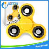 ABS plástico o POM mano EDC Tri-Spinner juguetes Fidget Spinner