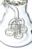 Showerhead del quadrato al tubo di vetro della coppa di Perc di ciclone per fumare