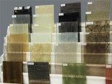 vidrio laminado claro y coloreado de 4+4m m de la seguridad con diversas telas