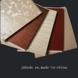Fabricante liso do painel de parede do PVC da laminação das cores de madeira