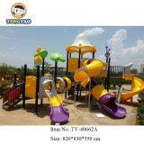 Спортивная площадка скольжения детей Tongyao цветастая пластичная коммерчески напольная (TY-40662)