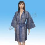 Badjas van de Disposable SPA Kimono van de Slijtage de Niet-geweven