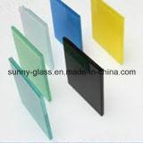 5+0.76+5mmのゆとりサンドイッチ安全薄板にされたガラス