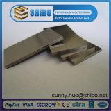 Plaques/feuilles de tungstène de constructeur de la Chine utilisées dans le four croissant de saphir