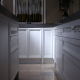 Фабрика Китая конструкции шкафа мебели кухни твердой древесины Welbom классицистическая
