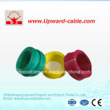 Fil électrique de fil électrique flexible plat de construction isolé par PVC d'en cuivre