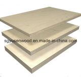 4*8 chapas de madera de abedul de chapa de madera muebles de madera contrachapada de contrachapado de grado