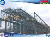 Edificio de la estructura de acero para la construcción