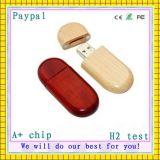 Chaud! Prix en usine de disque USB en bois (GC-676)