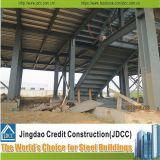 La estructura de acero de alta calidad de los edificios prefabricados