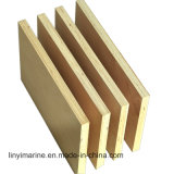 Abedul blanco barniz para muebles de madera contrachapada o embalaje