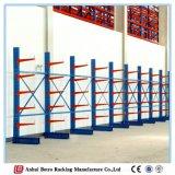 Prateleira de rack em cantilever de armazenamento pesado