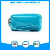光沢があるPUの女性ハンド・バッグの化粧品の財布