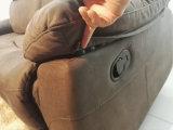 1 sofà manuale del Recliner di stile di Seater America (715)