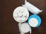 Tableta de sulfato de aluminio con alcance registrado