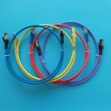 Kupferne graue Computer-Kabel-Steckschnür des Netz-CAT6