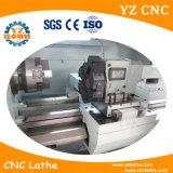 CNC de giro pequeno barato do torno da base do centro & da inclinação do CNC