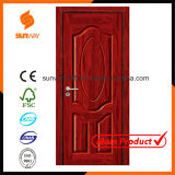 Kundenspezifische Größen-Farben-dekoratives Ökologie MDF-Melamin-hölzerne Tür-Hotelzimmer