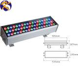 Rondella da parete LED ad alta potenza RGB dimensioni: 505*167 mm