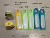 磁石が付いている携帯用平たい箱9 LEDのテントライト、Carabineerが付いている9つのLEDの働くライト