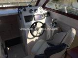 8.5m стеклоткань и шлюпка крейсера кабины алюминия