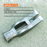 H-173 строительного оборудования наружного зеркала заднего вида ручного инструмента из полированного углеродистой стали молотка головки блока цилиндров