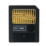 8m petite capacité 3V SM pour l'ancien appareil photo de la carte mémoire 8 Mo de carte Smart Media